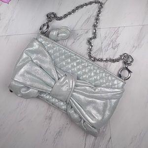 Juicy Couture Bow Capsule Bag Purse Handbag